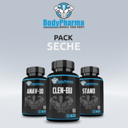 PACK SECHE MUSCULAIRE